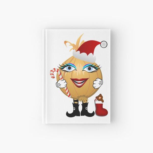 Weihnachts Zwiebel Notizbuch