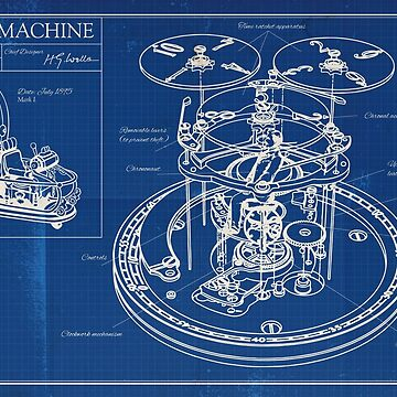 Time Machine - Blueprint by moviemaniacs
