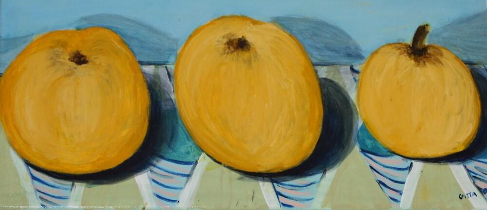 Three In A Row by Gitta Brewster
