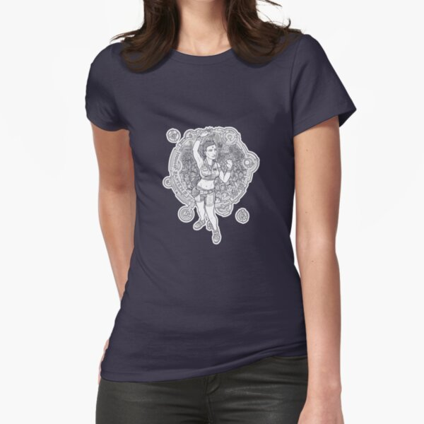 Aberrant Art: Homo Sapiens Novus Fitted T-Shirt