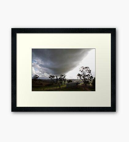 skyscapes #51, big cloud Framed Print