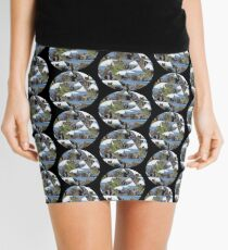 Fractured Castle and Seastack Mini Skirt