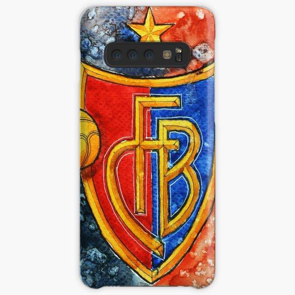 Kunst FC Basel Illustration Samsung Galaxy Leichte Hülle