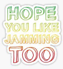 jamming Sticker