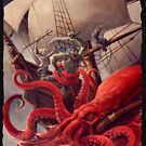 Scarred Lands Cover Art: Blood Sea: The Crimson Abyss by TheOnyxPath