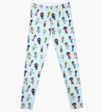Children of the World Dressed for Various Occupations Leggings
