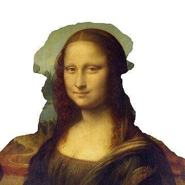 Leonardo Da Vinci Mona Lisa Portrait by savantdesigns