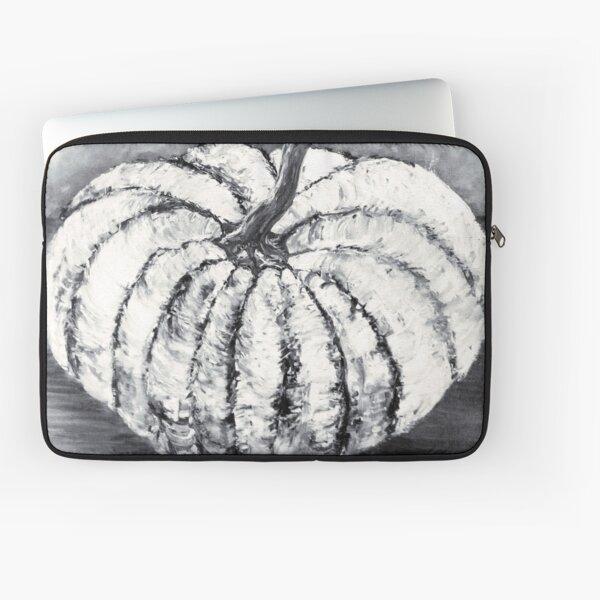 White Pumpkin Laptop Sleeve