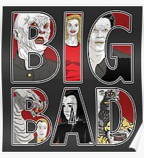 Buffy the Vampire Slayer - BIG BAD Variant Poster