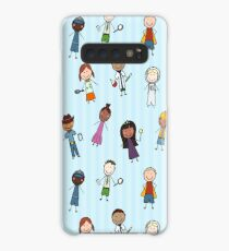 Children of the World Dressed for Various Occupations Case/Skin for Samsung Galaxy