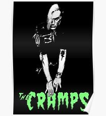 THE CRAMPS Bryan Gregory Poster