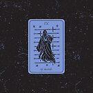 Tarot Card - IX of Swords by Sydney Koffler
