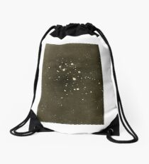 A Beginner's Star-Book (1912) - Largest stars in the Pleiades Cluster Drawstring Bag