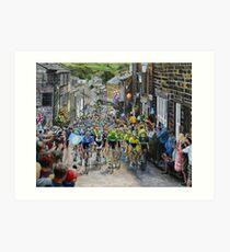 Climb through Haworth Art Print