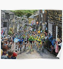 Climb through Haworth Poster