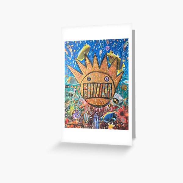 BOOGNISH ART - WEEN  Greeting Card
