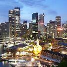 Sydney CBD by rharvey