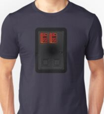 Arcade Coin Door Unisex T-Shirt