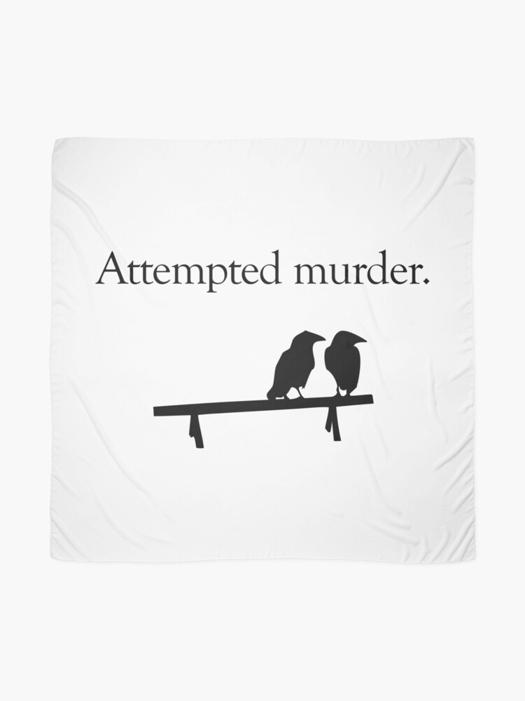 Alternate view of Attempted Murder Scarf