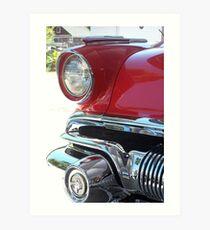 1957 Pontiac Art Print