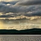 Sunset over Lake Inari No. 1 by AntSmith