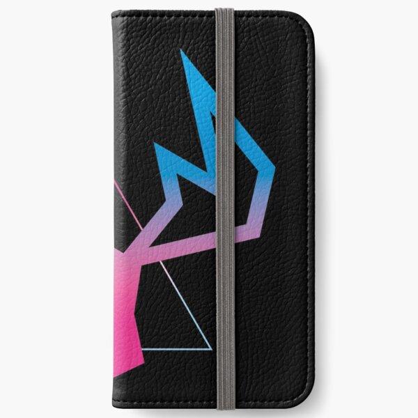 VaporWave Moose iPhone Wallet