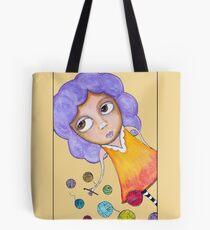 Crochet Girl Tote Bag