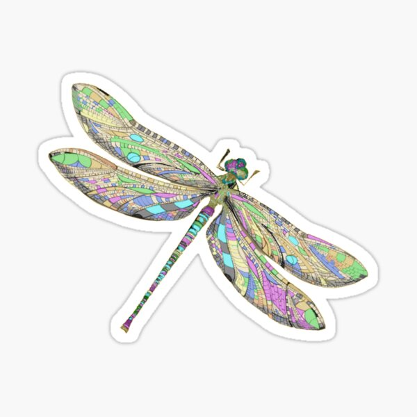 Dragonfly Gifts Sticker
