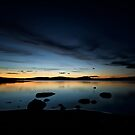 Sunset over Lake Inari No. 4 by AntSmith