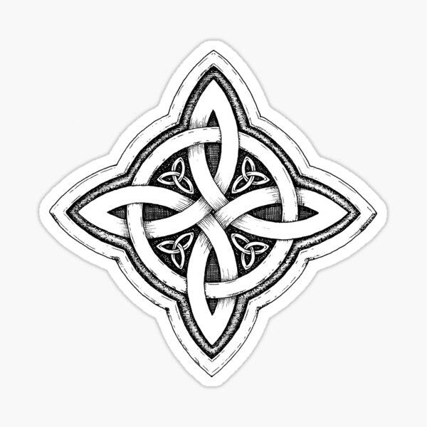 Celtic Luck Knot Sticker