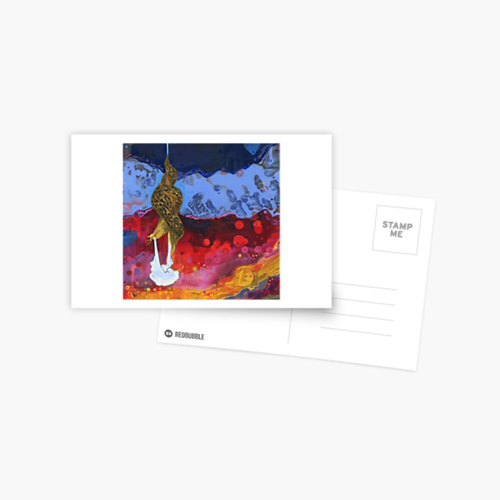 Leopard Slug Painting - 2012 Postcard