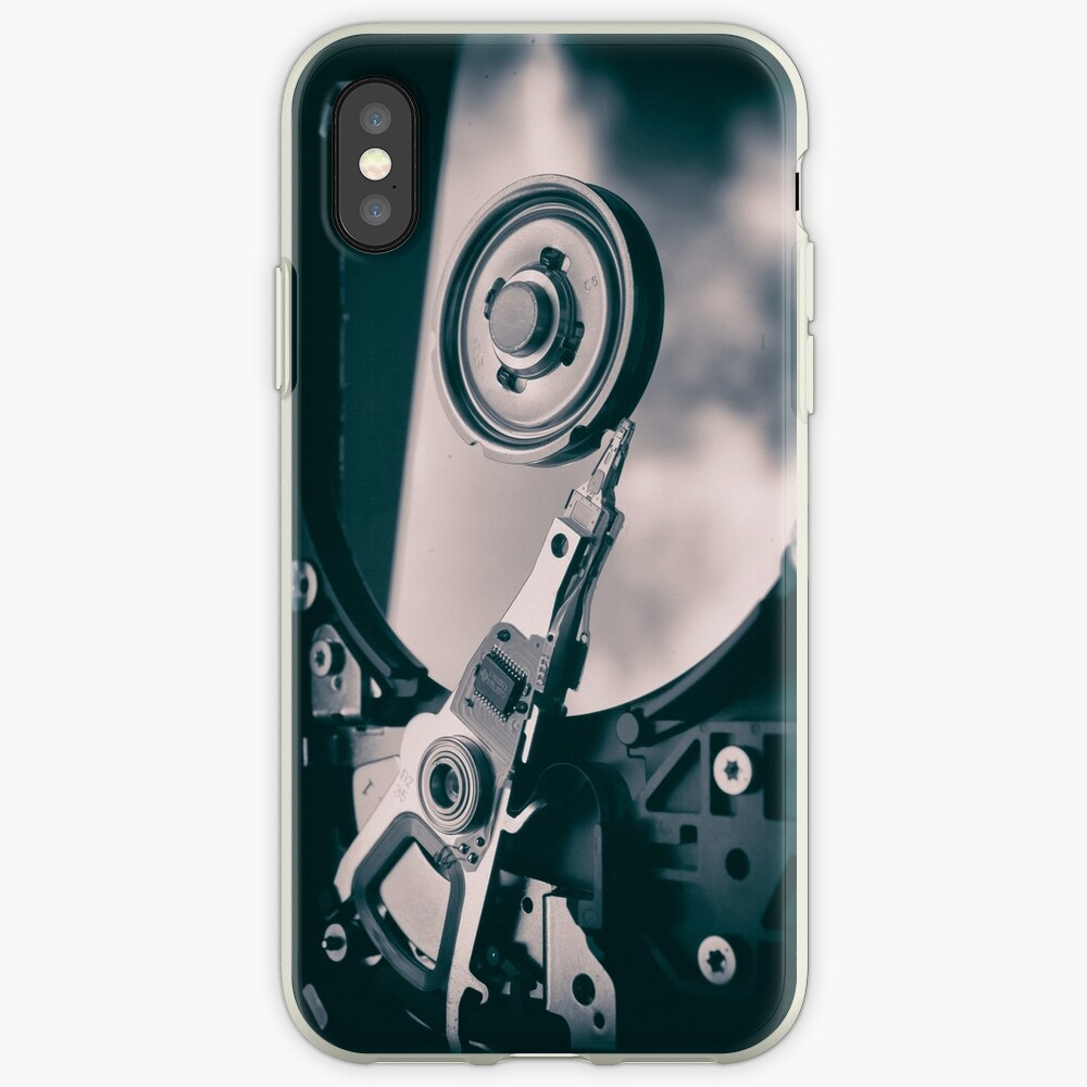 PC Hard Disk  iPhone Case & Cover