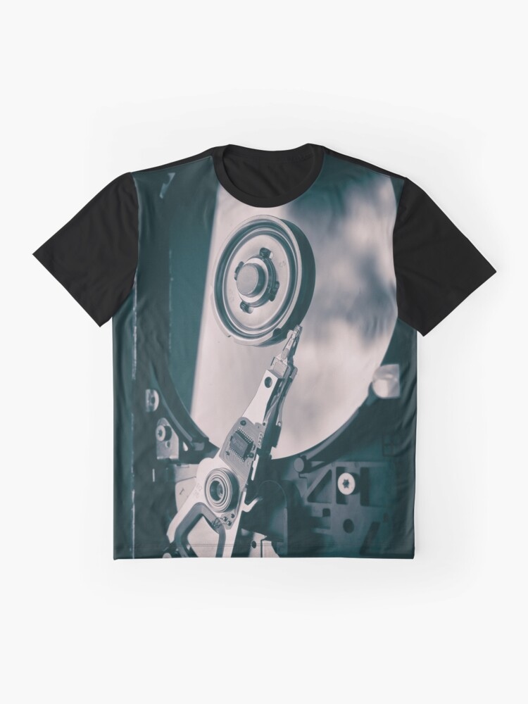 Alternate view of PC Hard Disk  Graphic T-Shirt