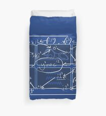 Only Connect The Tournament Structure Duvet Cover