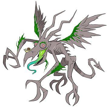Gargoyle by bogleech