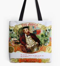 The Judge Vintage Cigars  Tote Bag