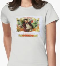 The Judge Vintage Cigars  Women's Fitted T-Shirt