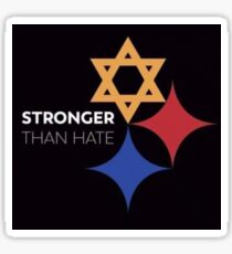 Stronger Than Hate Sticker