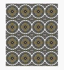Lámina fotográfica Mandala oriental