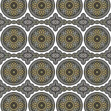 Mandala oriental de FejuLegacy