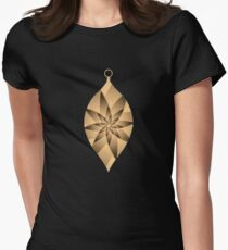 Optical Illusion Art Women's Fitted T-Shirt