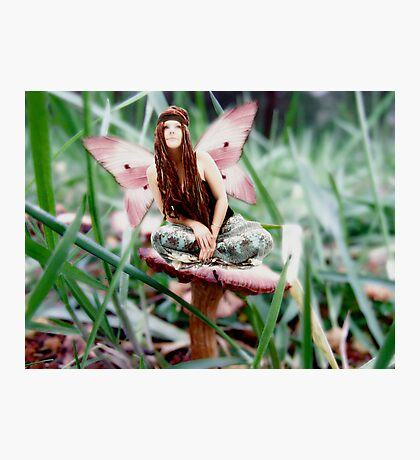 Hippie Fairy Photographic Print