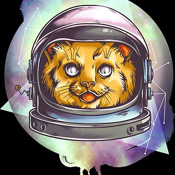 Astronaut cat by NovaPaint
