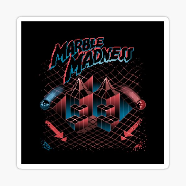 Madness Marbles Sticker