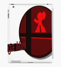 Smash Bros. Mega Man Tag iPad Case/Skin