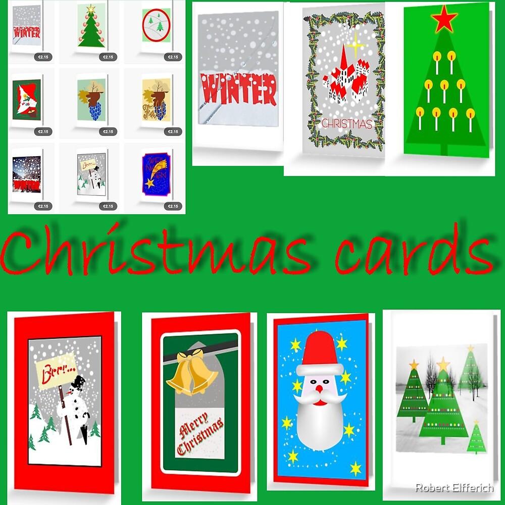 Christmas cards by Robert Elfferich