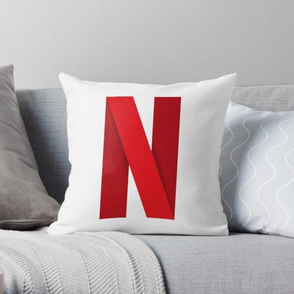 Logo Netflix Coussin