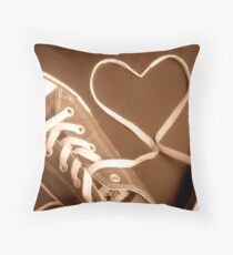Love Your Shoes Throw Pillow