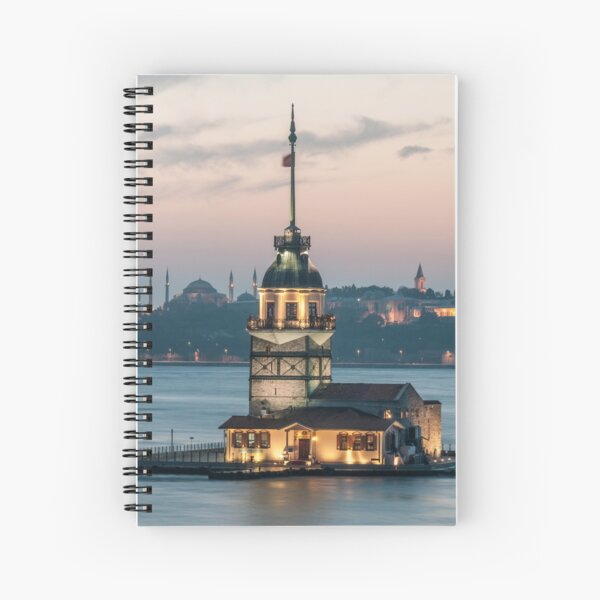 The Maiden's Tower  Spiral Notebook