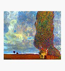 Gustav Klimt Approaching Thunderstorm Photographic Print
